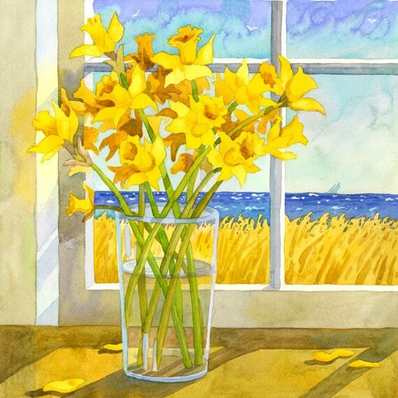 Daffodiles in the Window