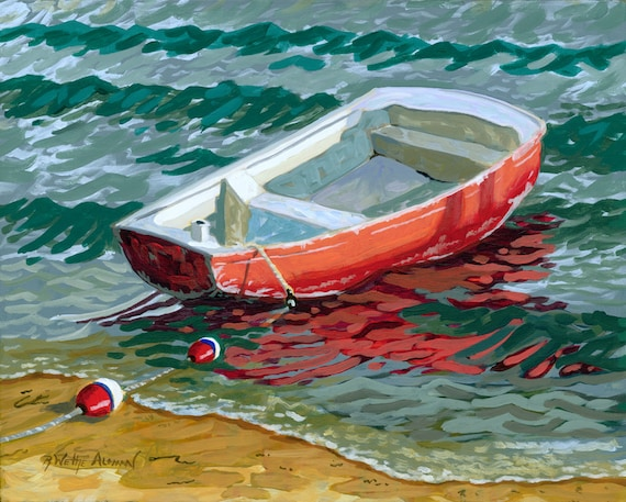 The Little Red Skiff