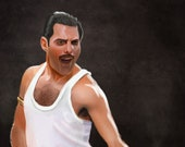 Freddie Mercury Art Print...