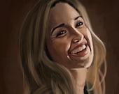 Ashley Johnson Art Print