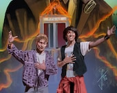 Bill and Ted's Excellent Adventure Art Print