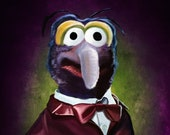 Gonzo the Great Portrait Print The Muppets