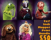 The Muppets 5x7 Inch Bundle