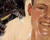 Alien Sigourney Weaver Art Print