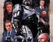 RoboCop alternate poster print
