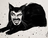 What We Do In the Shadows Vlad Cat Art Print
