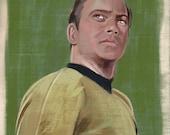 Star Trek Captain Kirk Print