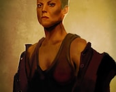 Alien 3 Sigourney Weaver Art Print