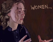 Little Women Art Print Saoirse Ronan