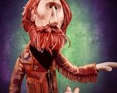 Jim Henson Portrait Print The Muppets