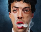 Tim Curry Art Print...