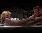 Re-Animator Horror Movie Art Print NSFW