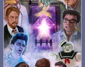 Ghostbusters alternate poster print