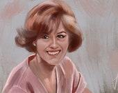 The Breakfast Club Brian Claire Molly Ringwald original art print!
