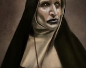 The Nun Valak Art Print The Conjuring