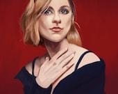 Evan Rachel Wood portrait print