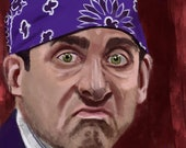 "Michael Scott ""Prison Mike"" Art Print The Office"