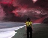 Stranger Things Eleven Landscape Art Print