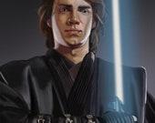 Hayden Christensen Anakin Skywalker Art Print