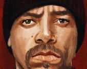 Ice T Portrait Print