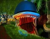Disneyland Monstro Storybook Land Canals Art Print