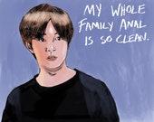 90 Day Fiance Jihoon Portrait Art Print