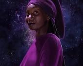 Star Trek Guinan Print