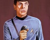 Star Trek Spock Print