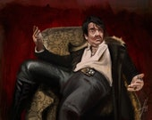What We Do In the Shadows Deacon Art Print