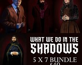 What We Do in the Shadows 5x7 Inch Bundle