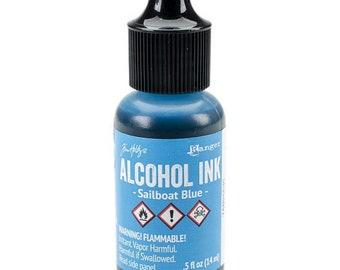 Tim Holtz Alcohol ink, Sailboat Blue alcohol ink