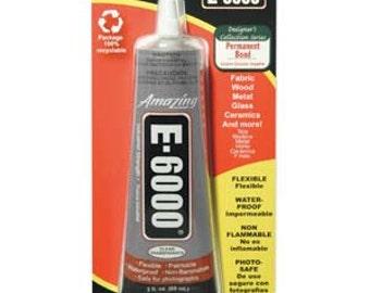 E6000 Adhesive 2 oz tube