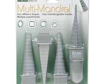 Wire forming mandrel set, Beadsmith Mandrel 4X, mandrel for forming wire into different shapes