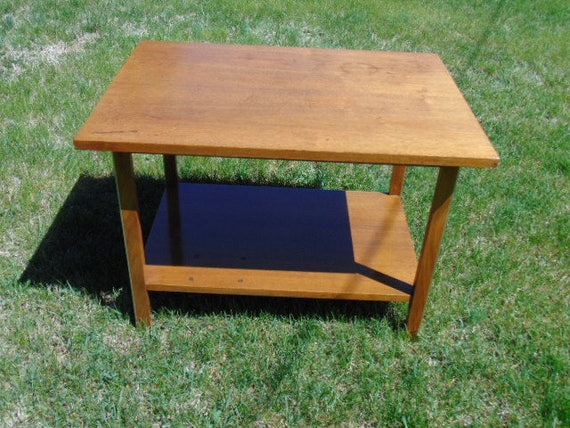 Vintage Mid Century Modern Calvin Side Table By Paul Mccobb