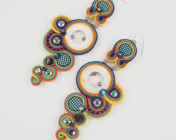 Fiesta Summer Statement Earrings