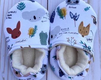 Cotton Soft Soled Shoes 18/24 Months