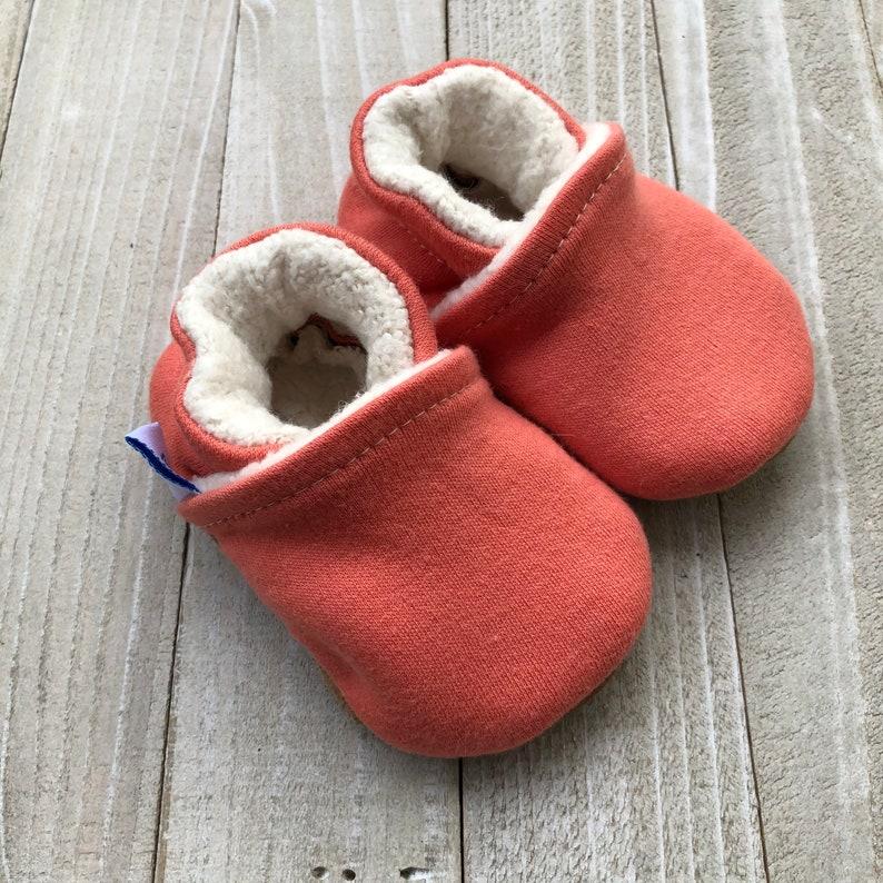 Organic Cotton Soft Soled Shoes Newborn