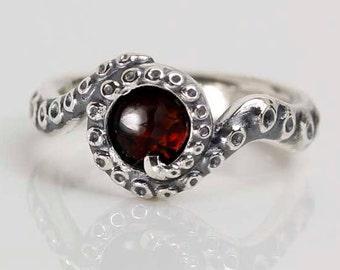 octopus inspired ring