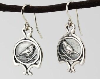 Northen Parula  earrings