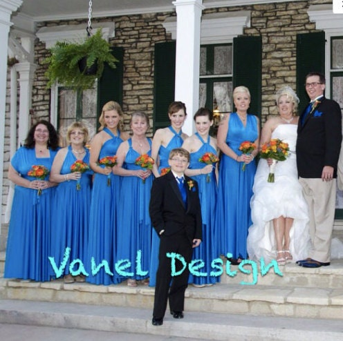 7b663126fdb Bridesmaid Dress Convertible Dress Wedding Gown Bridal