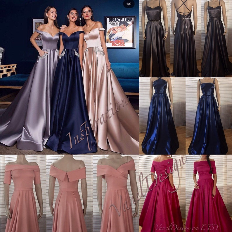 5134b2f2fab Prom Dress Bridesmaid Dress Long Dress Off Shoulder A Line
