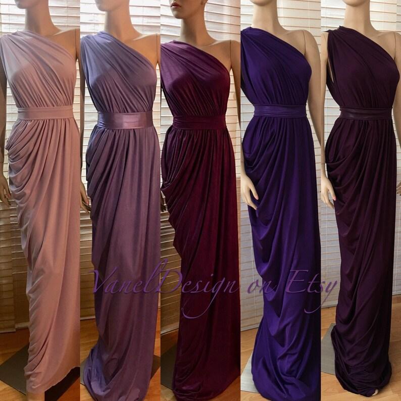 590e692d4336 Bridesmaid Dress Long Mermaid Dress Floor Length Infinity   Etsy