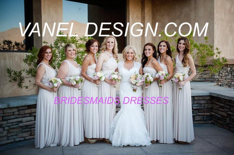 24456f76634 RUSH ORDER COST Infinity Dress Bridesmaids Dresses Wrap