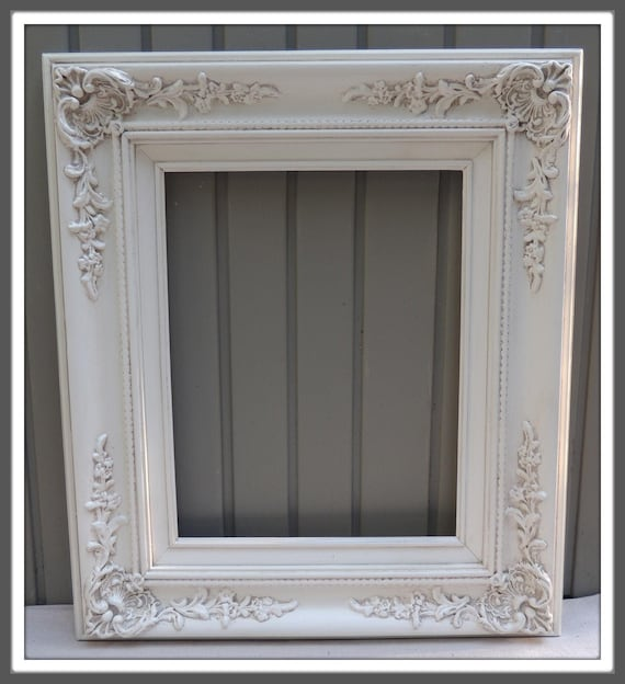 Custom 2.5 Wide White Vintage French Country Ornate Framed Wall Mirror Inside size 8x10 11x14 16x20 24x26 24x36 30x42 20x40 30x36