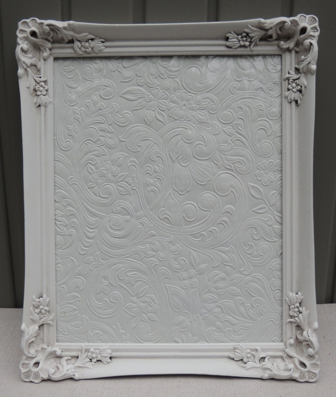 8 x 10 Picture Frame / White Picture Frames / Frame with Glass ...