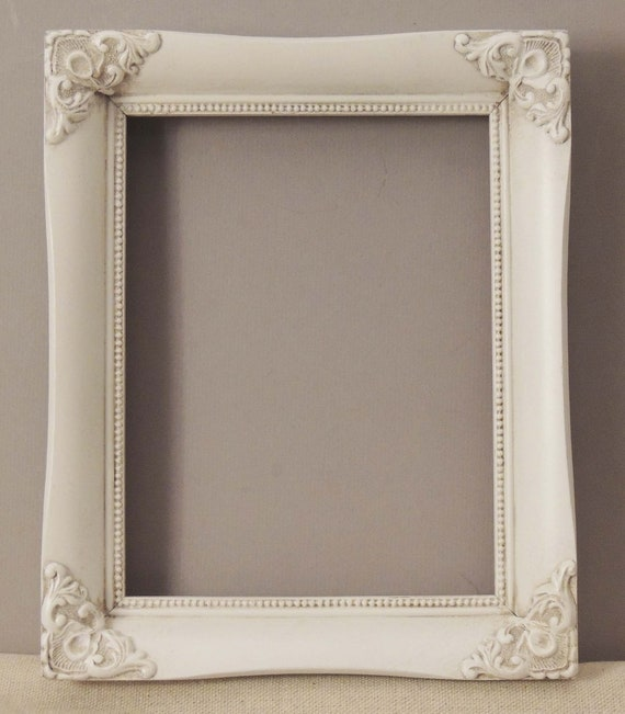 7x9 White Picture Frame 7 X 9 Frame White Wood Frame With Etsy