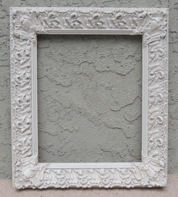 White Picture Frames 10 X 12 Picture Frame Wood Picture Etsy