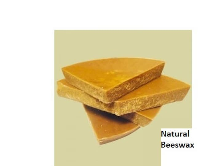 Really Raw and 100% Natural Pure Beeswax from Beekeeper 2 pounds USPS Shipping! (32 oz)