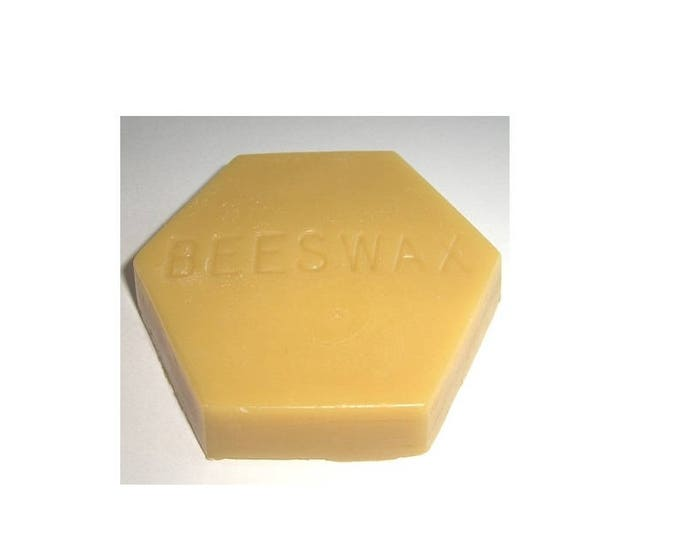 BEESWAX hexagon shape wholesale bulk raw bees wax from beekeeper USPS SHIPPING !
