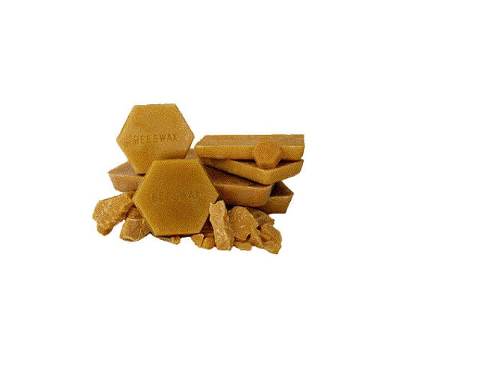 Really Raw and 100% Natural Pure Beeswax from Beekeeper 0.87 pound ( Net Wt 14 Oz ) great for Soap making or melting